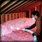 Absolute Home Improvements Inc Milwaukee Insulation contractor services for attic insulation, fiberglass insulation and attic baffles.