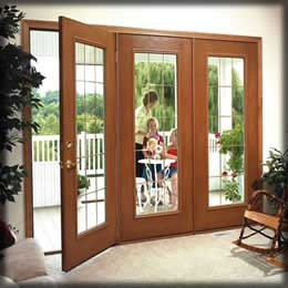 Milwaukee door contractor entry patio storm doors for Can you put screens on french doors