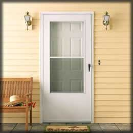 Milwaukee door contractor entry patio storm doors for Storm doors for patio doors